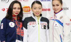 Алина Загитова уступила японке Рике Кихире в финале Гран-при по фигурному катанию и стала второй